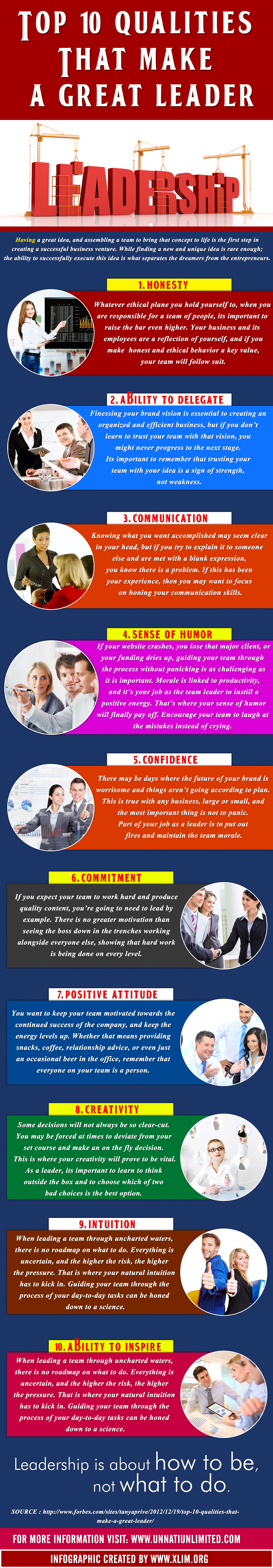 10 Qualities that make a great leader_UNNATI